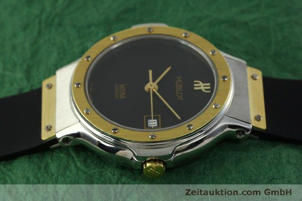 Used luxury watch Hublot MDM steel / gold quartz Kal. ETA 956.112 Ref. 1393.2  | 150980 05