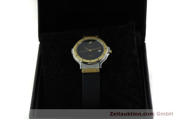 Used luxury watch Hublot MDM steel / gold quartz Kal. ETA 956.112 Ref. 1393.2  | 150980 07