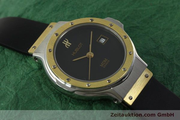 Used luxury watch Hublot MDM steel / gold quartz Kal. ETA 956.112 Ref. 1393.2  | 150980 12