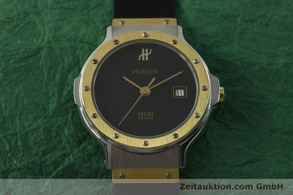 Used luxury watch Hublot MDM steel / gold quartz Kal. ETA 956.112 Ref. 1393.2  | 150980 13