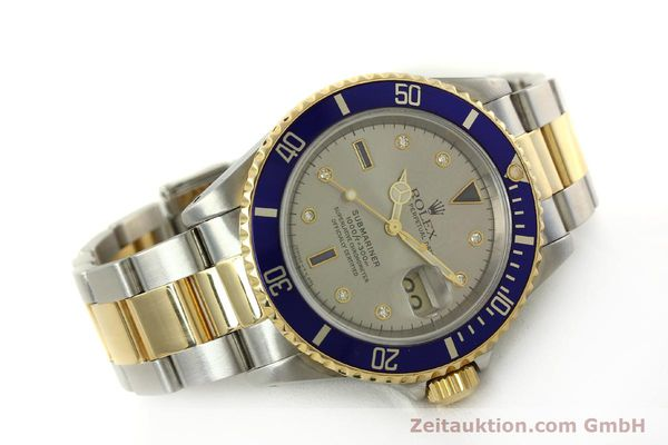 Used luxury watch Rolex Submariner steel / gold automatic Kal. 3135 Ref. 16613  | 150987 03