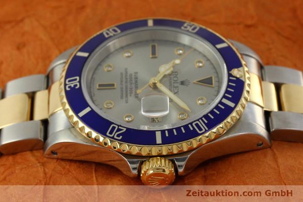 Used luxury watch Rolex Submariner steel / gold automatic Kal. 3135 Ref. 16613  | 150987 05