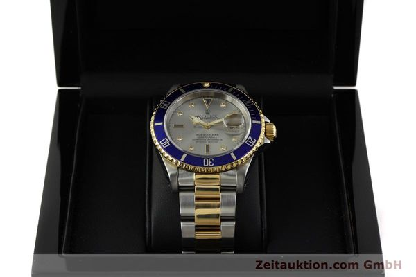 Used luxury watch Rolex Submariner steel / gold automatic Kal. 3135 Ref. 16613  | 150987 07