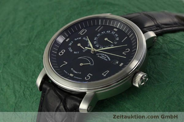 Used luxury watch Mühle Business Timer steel automatic Kal. ETA 2892-A2 Ref. M1-30-63  | 150990 01