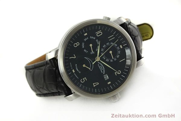 Used luxury watch Mühle Business Timer steel automatic Kal. ETA 2892-A2 Ref. M1-30-63  | 150990 03