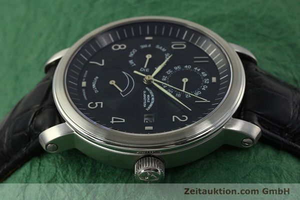 Used luxury watch Mühle Business Timer steel automatic Kal. ETA 2892-A2 Ref. M1-30-63  | 150990 05