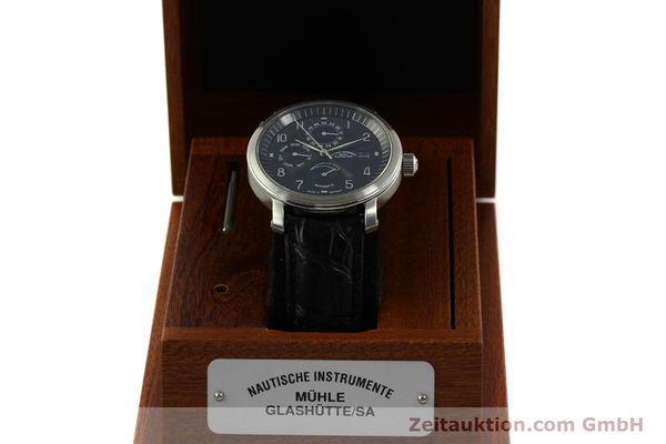 Used luxury watch Mühle Business Timer steel automatic Kal. ETA 2892-A2 Ref. M1-30-63  | 150990 07