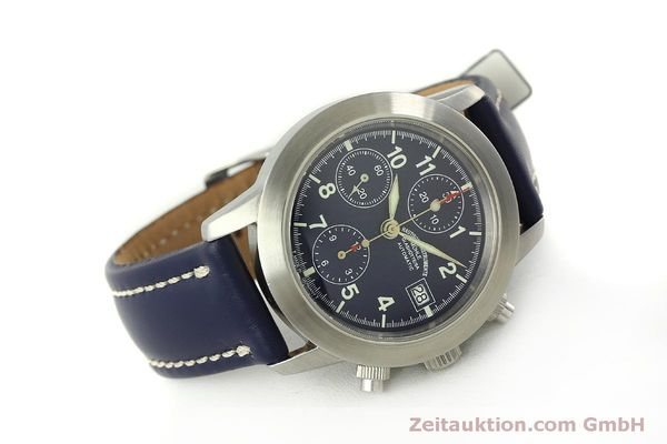 Used luxury watch Mühle Sport Chronograph chronograph steel automatic Kal. ETA 7750 Ref. M1-23-12  | 150992 03