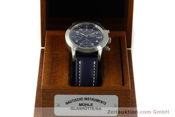 Used luxury watch Mühle Sport Chronograph chronograph steel automatic Kal. ETA 7750 Ref. M1-23-12  | 150992 07