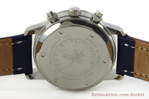 Used luxury watch Mühle Sport Chronograph chronograph steel automatic Kal. ETA 7750 Ref. M1-23-12  | 150992 09