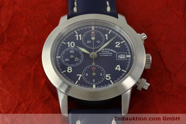 Used luxury watch Mühle Sport Chronograph chronograph steel automatic Kal. ETA 7750 Ref. M1-23-12  | 150992 15