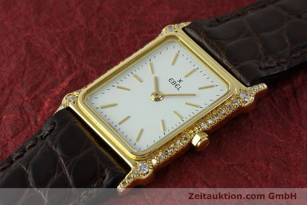 Used luxury watch Ebel * 18 ct gold quartz Kal. 81  | 150997 01