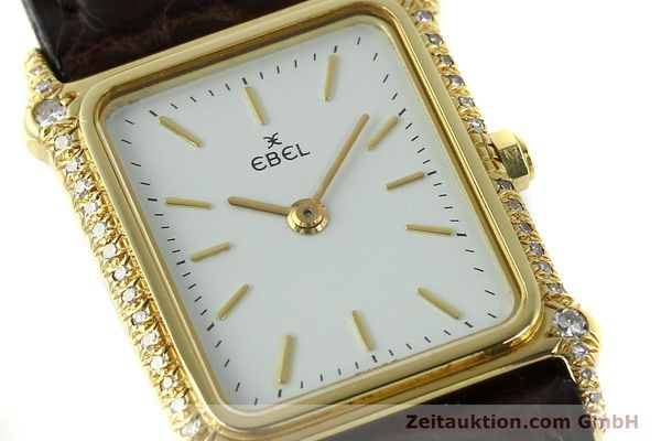 Used luxury watch Ebel * 18 ct gold quartz Kal. 81  | 150997 02