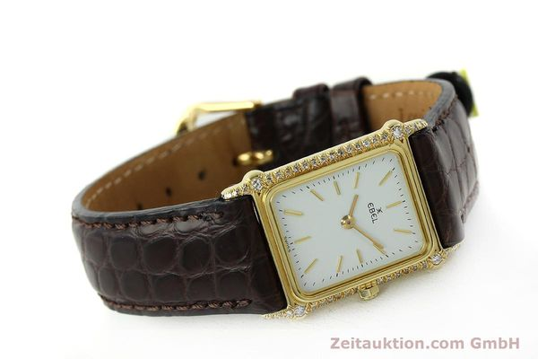 montre de luxe d occasion Ebel * or 18 ct quartz Kal. 81  | 150997 03