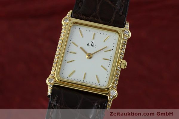 montre de luxe d occasion Ebel * or 18 ct quartz Kal. 81  | 150997 04