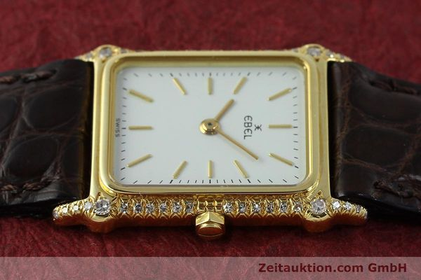 montre de luxe d occasion Ebel * or 18 ct quartz Kal. 81  | 150997 05