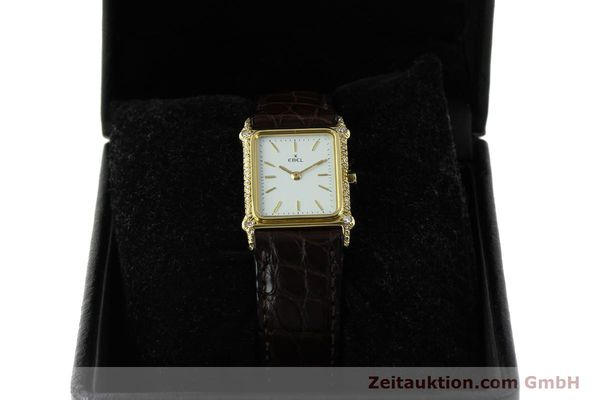 Used luxury watch Ebel * 18 ct gold quartz Kal. 81  | 150997 07