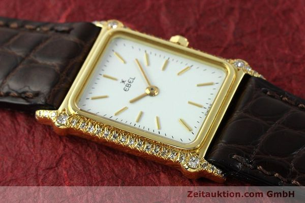 montre de luxe d occasion Ebel * or 18 ct quartz Kal. 81  | 150997 11