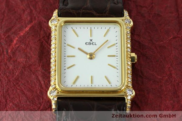 Used luxury watch Ebel * 18 ct gold quartz Kal. 81  | 150997 12
