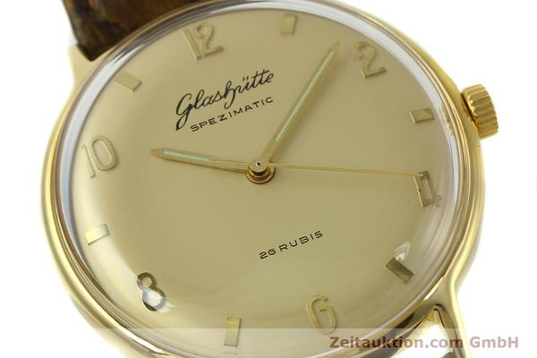 Used luxury watch Glashütte Spezimatic gold-plated automatic  | 151008 02