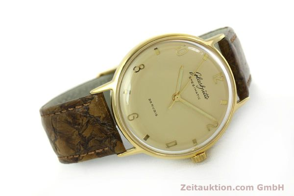 Used luxury watch Glashütte Spezimatic gold-plated automatic  | 151008 03
