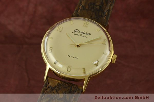 Used luxury watch Glashütte Spezimatic gold-plated automatic  | 151008 04