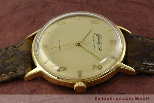 Used luxury watch Glashütte Spezimatic gold-plated automatic  | 151008 05