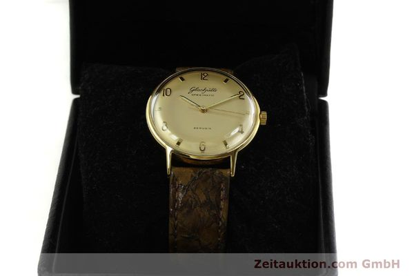 Used luxury watch Glashütte Spezimatic gold-plated automatic  | 151008 07