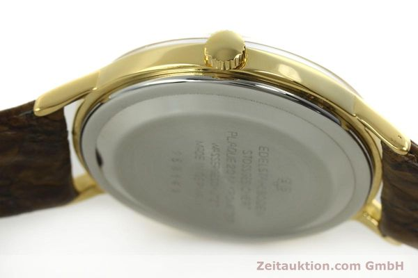 Used luxury watch Glashütte Spezimatic gold-plated automatic  | 151008 08