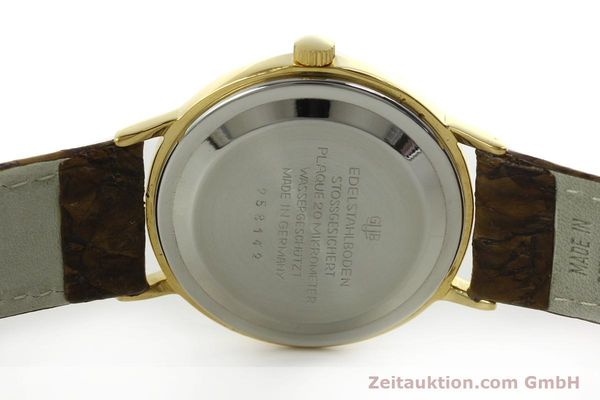 Used luxury watch Glashütte Spezimatic gold-plated automatic  | 151008 09