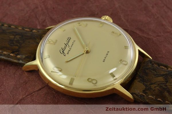 Used luxury watch Glashütte Spezimatic gold-plated automatic  | 151008 12