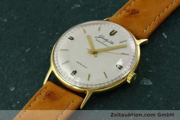Used luxury watch Glashütte Spezimatic gold-plated automatic Kal. 74  | 151009 01