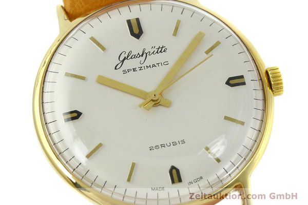 Used luxury watch Glashütte Spezimatic gold-plated automatic Kal. 74  | 151009 02