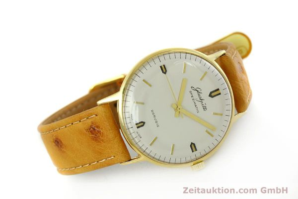 Used luxury watch Glashütte Spezimatic gold-plated automatic Kal. 74  | 151009 03