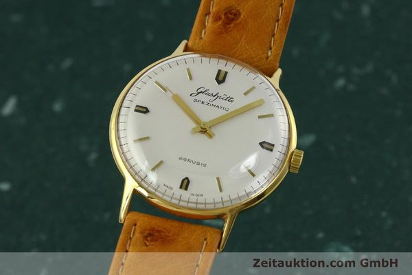Used luxury watch Glashütte Spezimatic gold-plated automatic Kal. 74  | 151009 04
