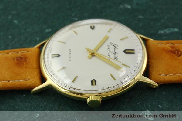 Used luxury watch Glashütte Spezimatic gold-plated automatic Kal. 74  | 151009 05