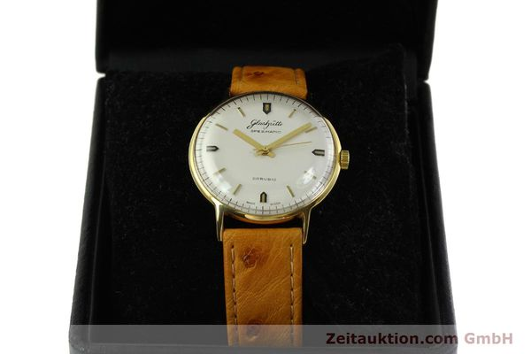 Used luxury watch Glashütte Spezimatic gold-plated automatic Kal. 74  | 151009 07