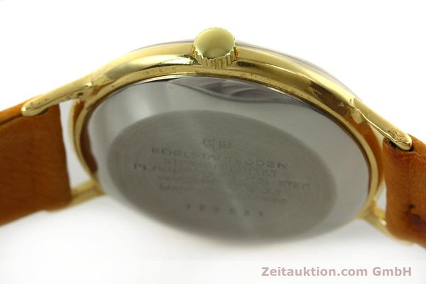 Used luxury watch Glashütte Spezimatic gold-plated automatic Kal. 74  | 151009 08