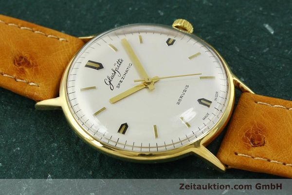 Used luxury watch Glashütte Spezimatic gold-plated automatic Kal. 74  | 151009 12