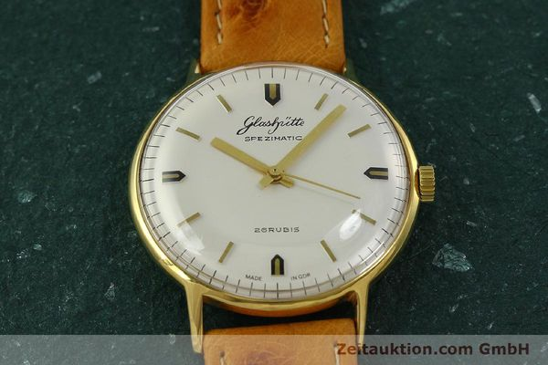 Used luxury watch Glashütte Spezimatic gold-plated automatic Kal. 74  | 151009 13