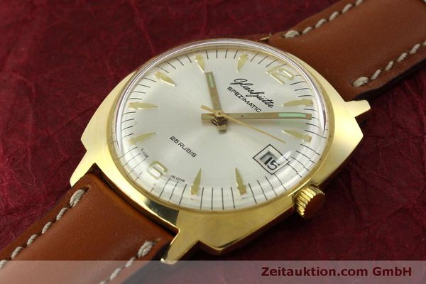 Used luxury watch Glashütte Spezimatic gold-plated automatic Kal. 75  | 151017 01