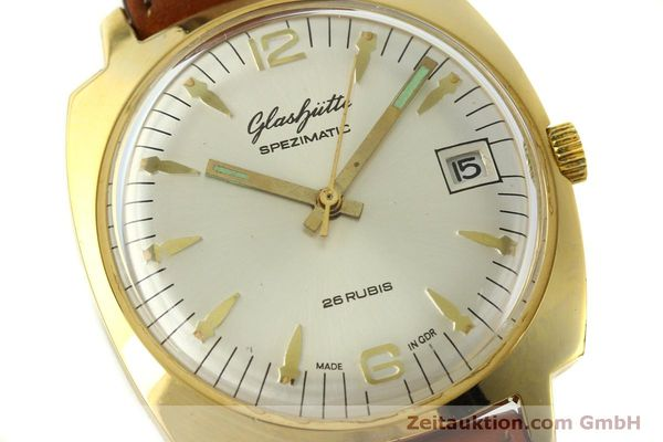 Used luxury watch Glashütte Spezimatic gold-plated automatic Kal. 75  | 151017 02