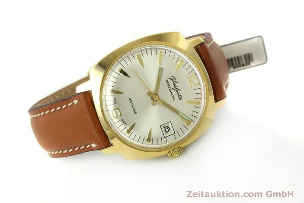 Used luxury watch Glashütte Spezimatic gold-plated automatic Kal. 75  | 151017 03