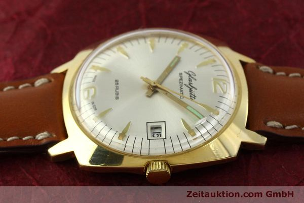 Used luxury watch Glashütte Spezimatic gold-plated automatic Kal. 75  | 151017 05