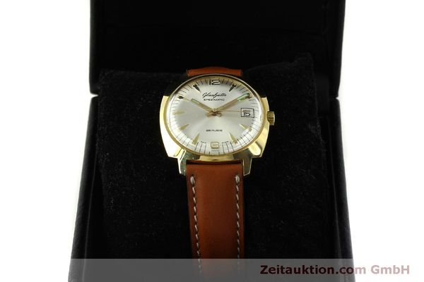 Used luxury watch Glashütte Spezimatic gold-plated automatic Kal. 75  | 151017 07
