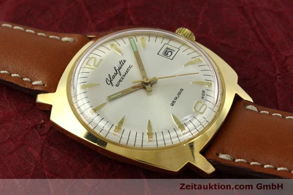 Used luxury watch Glashütte Spezimatic gold-plated automatic Kal. 75  | 151017 12