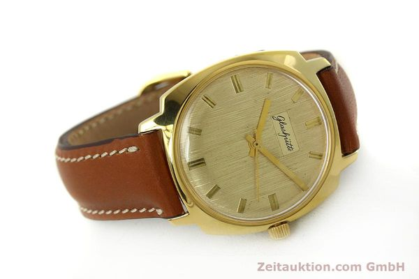 Used luxury watch Glashütte * gold-plated automatic Kal. 75  | 151018 03