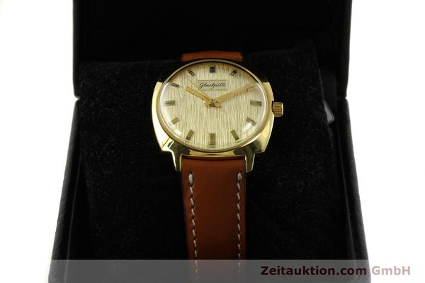 Used luxury watch Glashütte * gold-plated automatic Kal. 75  | 151018 07