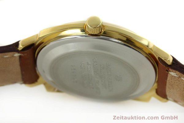 Used luxury watch Glashütte * gold-plated automatic Kal. 75  | 151018 08