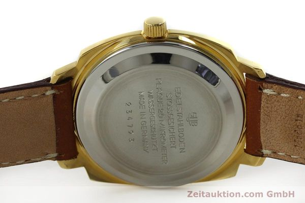 Used luxury watch Glashütte * gold-plated automatic Kal. 75  | 151018 09